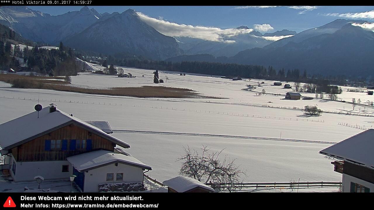 Webcam Allgäu - Oberstdorf - Rubi