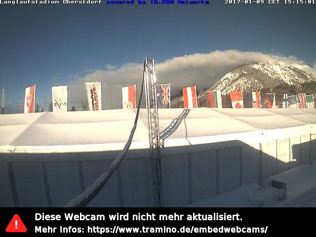 Webcam Langlaufstadion Ried